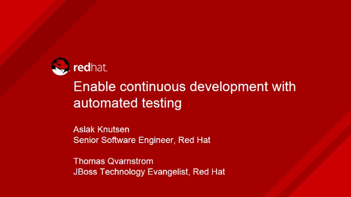 Enable Continuous Development and DevOps with Automated Testing