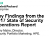 Key Findings from the 2017 State of Security Operations Report