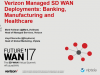 Verizon: Banking, Manufacturing, and Healthcare Case Studies in Managed SD-WAN