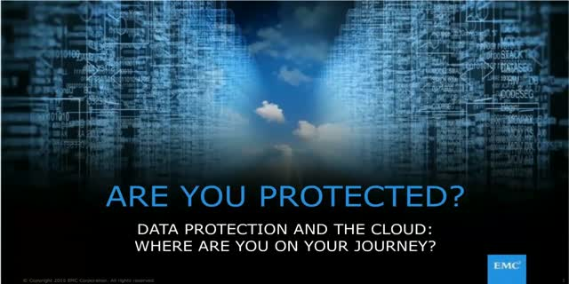 How to Enable Data Protection on Your Journey to the Cloud