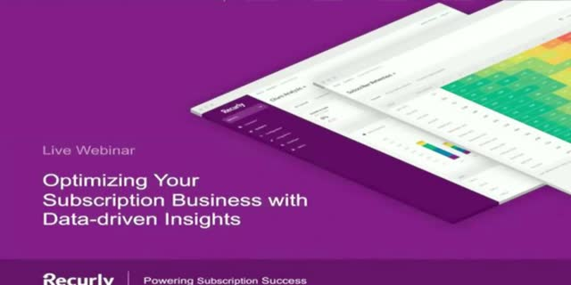 Optimizing Your Subscription Business with Data-driven Insights