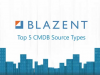 Top 5 CMDB Source Types