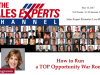 How to Run a TOP Opportunity War Room and Get $$$ Results