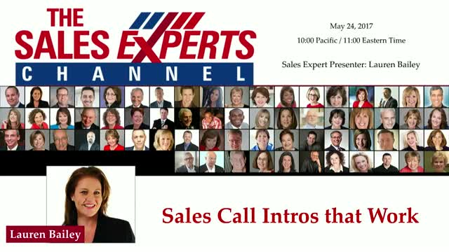 Sales Call Intros that Work