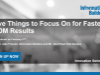 Five Things to Focus On for Faster MDM Results