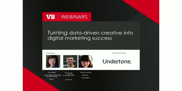Turning data-driven creative into digital marketing success