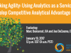 Seeking Agility: Using Analytics-as-a-Service to Develop Competitive Advantage