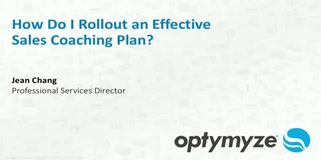 How to Rollout an Effective Sales Coaching Plan