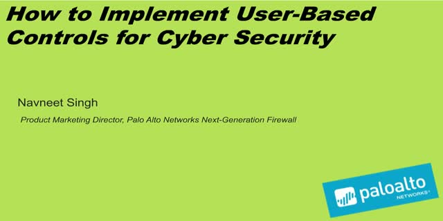 How to Implement User-based Controls for Cybersecurity