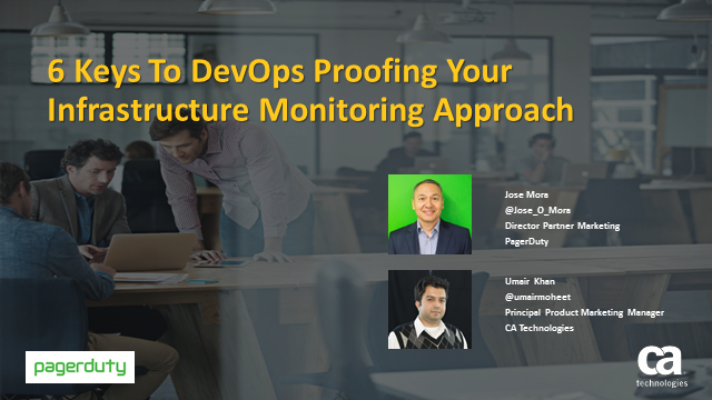 6 Keys To DevOps Proofing Your Infrastructure Monitoring Approach