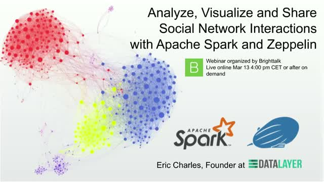Analyse, Visualize, Share Social Network Interactions w Apache Spark & Zeppelin
