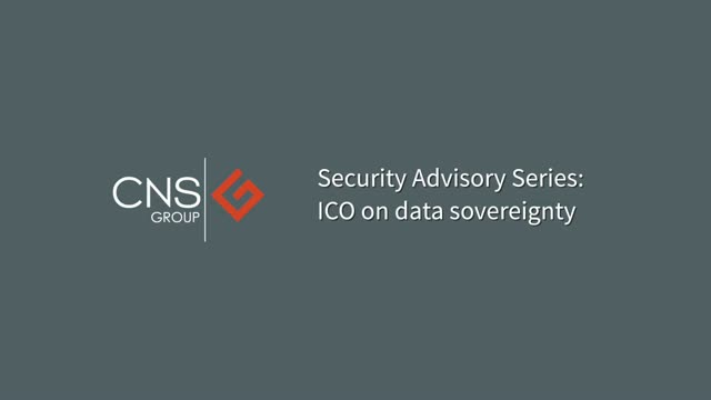 CNS interview with the ICO