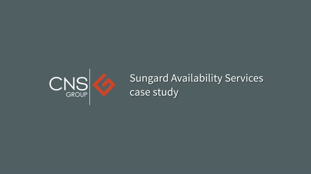 CNS interview with Sungard Availability Services