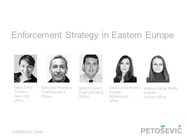 Enforcement Strategy in Eastern Europe