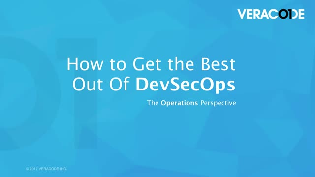 How to Get the Best Out Of DevSecOps - From the Ops Perspective