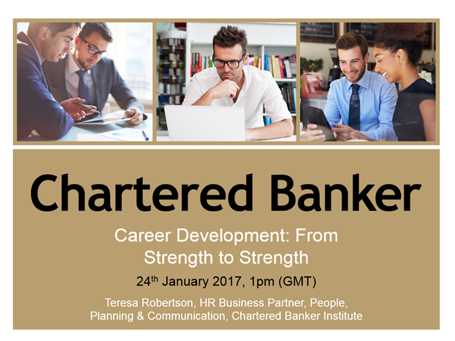 Career Development: From Strength to Strength