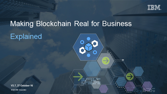 Latest trends revealed: Business in blockchain