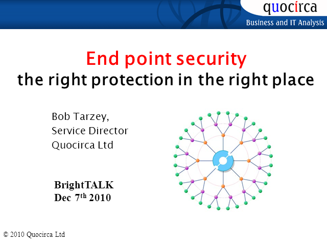 Endpoint Security – The Right Protection in the Right Place