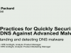 Best Practices for Securing your DNS against Advanced Malware