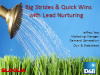 How to Make Big Strides with Quick Wins in Lead Nurturing