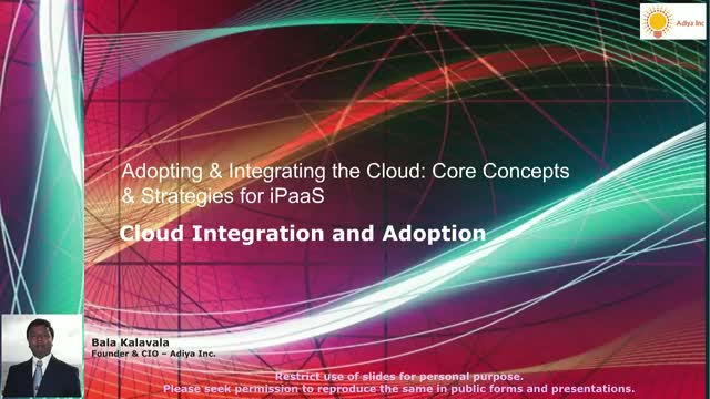 Adopting & Integrating the Cloud: Core Concepts & Strategies for iPaaS