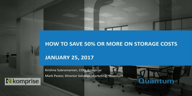 How To Save 50% Or More On Storage Costs