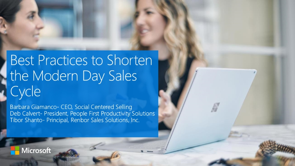Best Practices to Shorten the Modern Day Sales Cycle