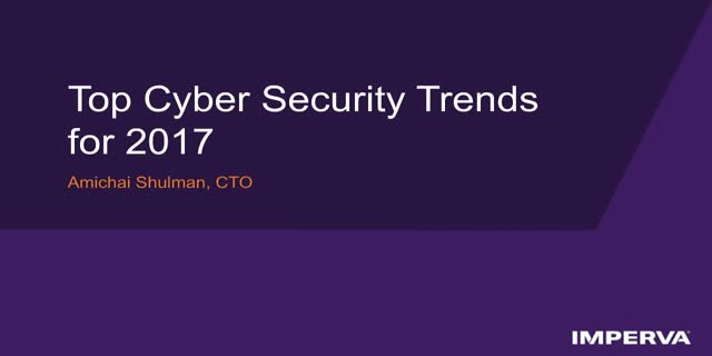 Top Cyber Security Trends for 2017