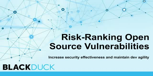 Risk-Ranking Open Source Vulnerabilities