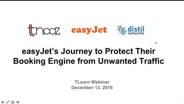 easyJet's Journey to Protect Their Booking Engine from Unwanted Traffic