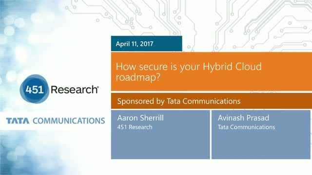 How secure is your Hybrid Cloud roadmap? (India/APAC focus)