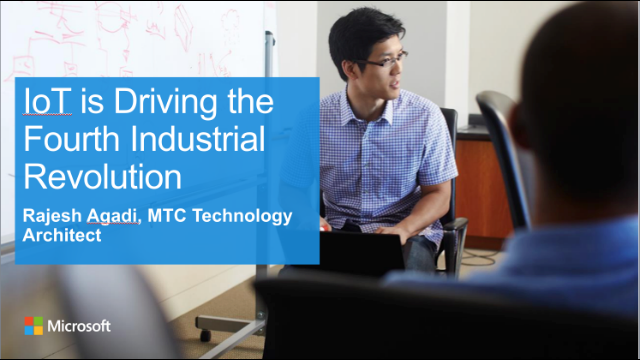 IoT is Driving the Fourth Industrial Revolution