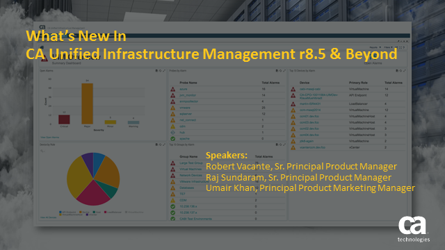 What's New In CA Unified Infrastructure Management 8.5.x