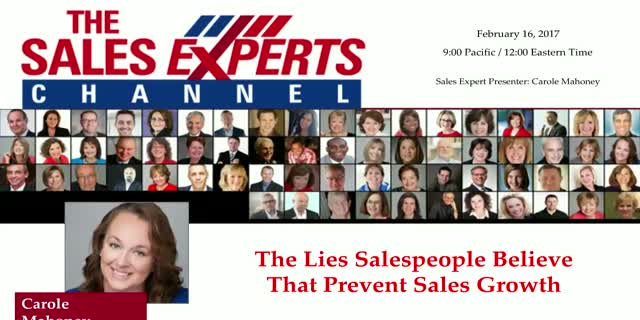 The Lies Salespeople Believe That Prevent Sales Growth