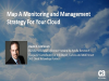 Map A Monitoring and Management Strategy for Your Cloud