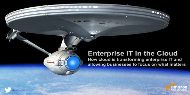 Enterprise IT in the Cloud