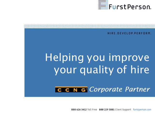 Introducing CCNG partner - FurstPerson