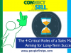 The 4 Critical Roles of a Sales Manager Aiming for Long-Term Success