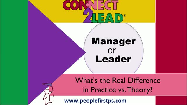 Manager or Leader? What's the Real Difference in Practice vs. Theory?