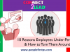 10 Reasons Employees Under-Perform & How to Turn Them Around