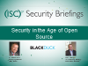 Security in the Age of Open Source