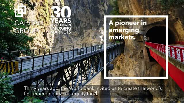 Capital Group: A pioneer in emerging markets.