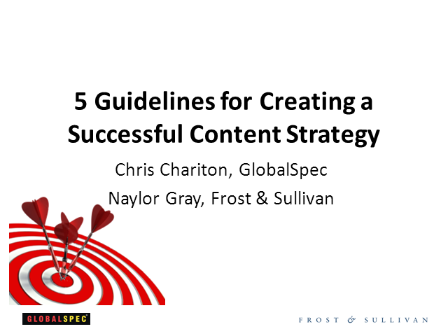 5 Guidelines for Creating a Successful Content Strategy