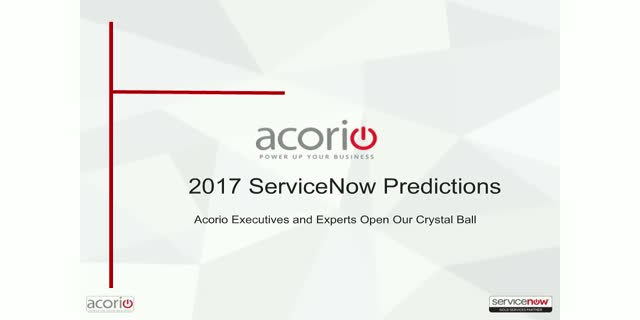 What to know about ServiceNow for 2017