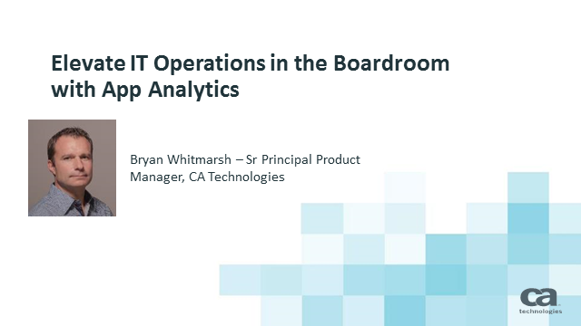 Elevate IT Operations in the Boardroom with App Analytics
