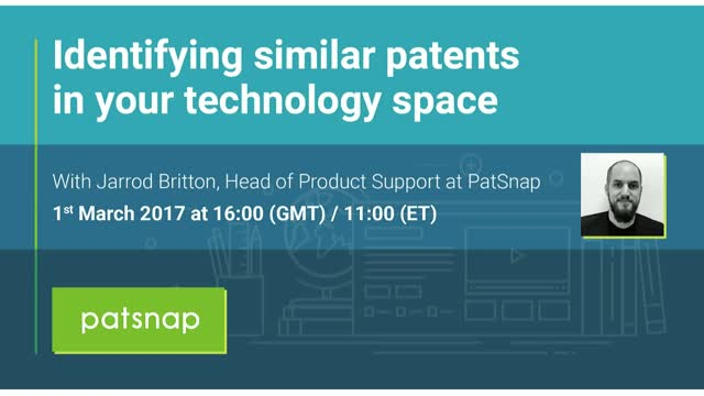 How to identify similar patents in your technology space