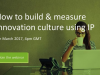 How to build and measure innovation culture using IP analysis