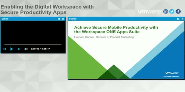 Enabling the Digital Workspace with Secure Mobile Apps