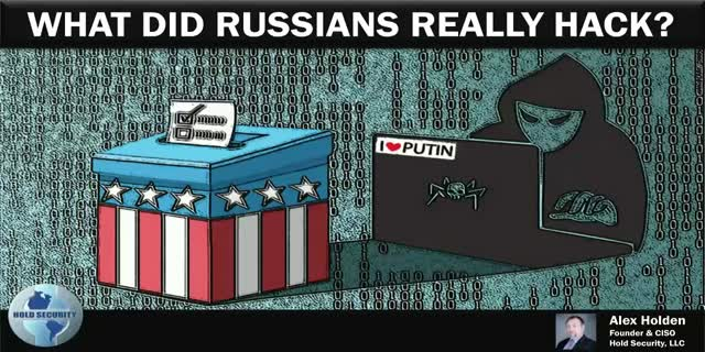 What Did Russians Really Hack?