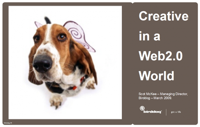 Creative in a Web 2.0 world